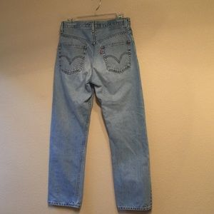 Levi's 505 very  high waisted mom jeans